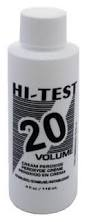 Hi-Test Cream Peroxide Vol.20 4oz
