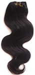 "Brazilian Virgin Body Wavy 14"" (Pack of 3 Pieces), Natural Hair"