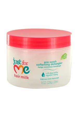 Just for me Hair Milk Pre Wash Softening Detangler 12oz