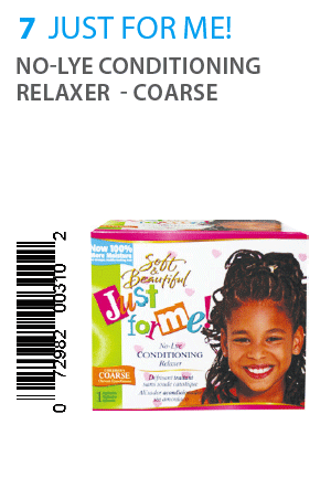 Just For Me No-Lye Conditioning Relaxer Super