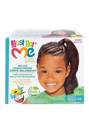 Just For Me No-Lye Conditioning Relaxer Regular