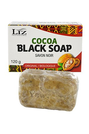 Liz Professional Cocoa Black Soap 120g