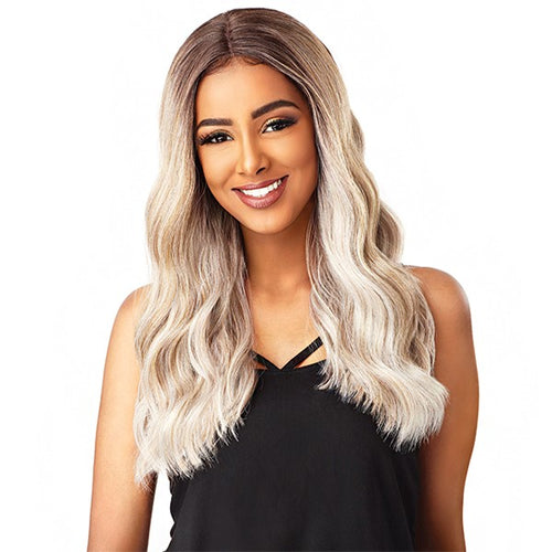 Empress Center-Part Lace Front Edge Wig BRIANNA, Synthetic Hair Wig