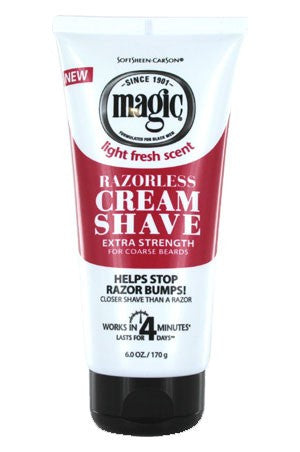 Magic Shave Cream -Extra 6oz, For Men