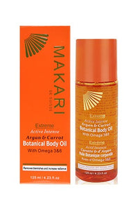 Makari Extreme Argan & Carrot Botanical Body Oil 4.23oz
