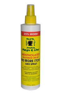 Mango & Lime Medicated No More Itch Gro Spray 10oz