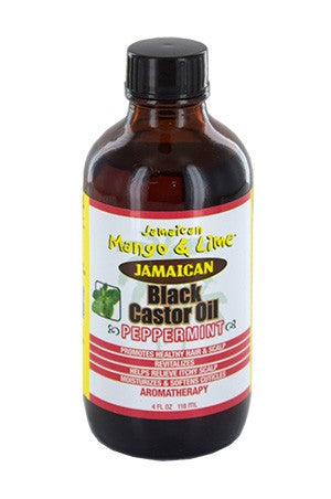 Mango & Lime Black Castor Oil Peppermint 4oz