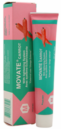 Movate Carrot Skin Lightening Cream 1.76oz