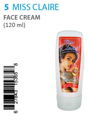 Miss Claire Anti-Spot Lightening Cream 120ml