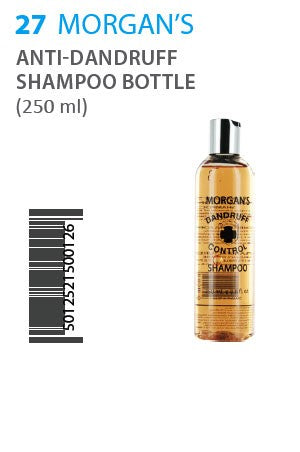Morgan's Anti-Dandruff Shampoo 250ml