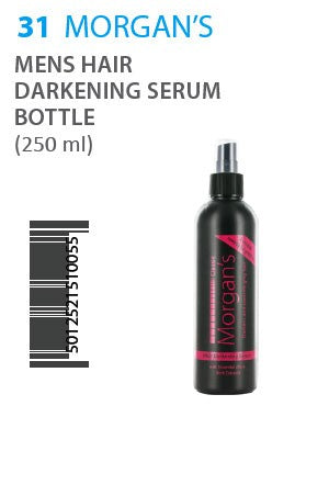 Morgan's Hair Darkening Serum 250ml