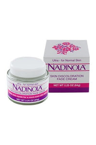 Nadinola Skin Fade Cream Ultra for Nomal Skin 2.25oz