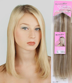 "Natural Way European Stw 7 Pcs Clip-In 14"", 100% Human Hair"