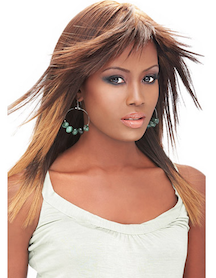 "Premium New Yaki 16"", 100% Human Hair"