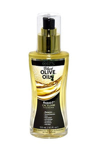 Organic Root BLK Olive Oil Repair7 Oil Elixer 4.5oz