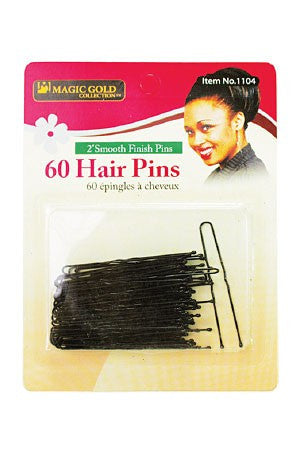 Magic Gold Hair Pins 60