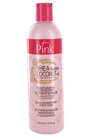 Pink Shea Butter & Coconut Oil Moisturizing Conditioner 12oz