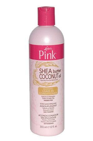 Pink Shea Butter & Coconut Oil Leave-In Conditioner 12oz