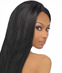 "Premium New Yaki 12"", 100% Human Hair"