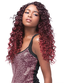 Premium Too Mixx Caribbean Wave Multi Curl, Human Hair Extensions