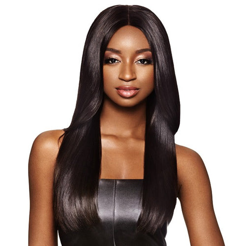MyTresses Black Label Hand-tied 100% unprocessed Natural Human Hair Lace Wig Straight