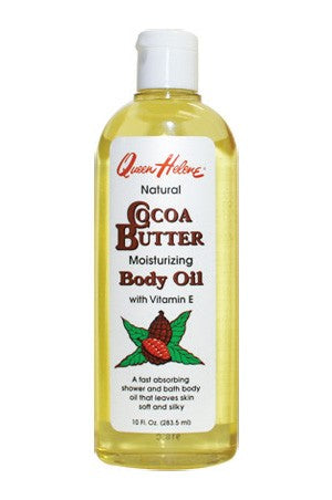Queen Helene Cocoa Butter Moisturizing Body Oil 10oz