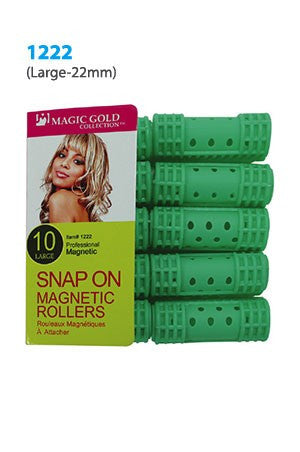 Magic Snap On Magnetic Rollers 10pc