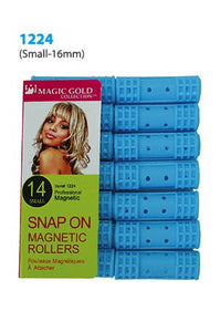 Magic Snap On Magnetic Rollers 14pc Small