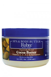 Rubee Spa & Body Butter Cocoa Butter 8.5oz