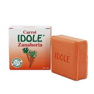 Idole Carrot Exfoliating Soap 100g