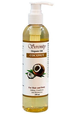 Serenity Organic Coconut Oil 250ml