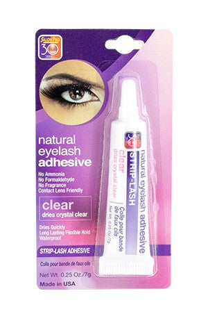 Salon Pro Strip Eyelash Adhesive  0.25oz # Clear