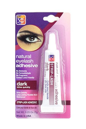 Salon Pro Strip Eyelash Adhesive  0.25oz # Dark