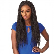Cloud9 4x4 Part Swiss Lace Wig Senegal Twist, Synthetic Hair Wig