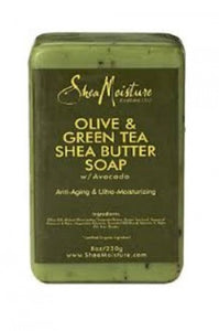 Shea Moisture Olive & Green Tea Tea Shea Butter Soap 8oz