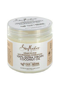 Shea Moisture 100% Extra Virgin Coconut  Oil 15oz