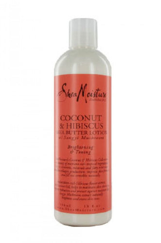 Shea Moisture Coconut & Hibiscus Body Lotion 13 Oz