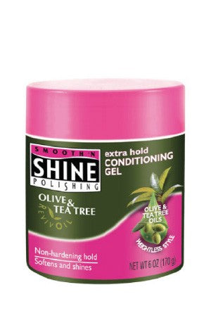Smooth'n Shine Olive & Tea Tree Conditioner Gel Extra Hold 6oz