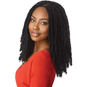 "X-PRESSION - TWISTED UP - SPRINGY AFRO TWIST 16""  3X"