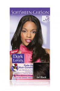 Dark & Lovely Hair Color Kit of 2 #Jet Black