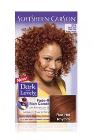 Dark & Lovely Soft Sheen Carson Hair color # Red Hot Rhythm