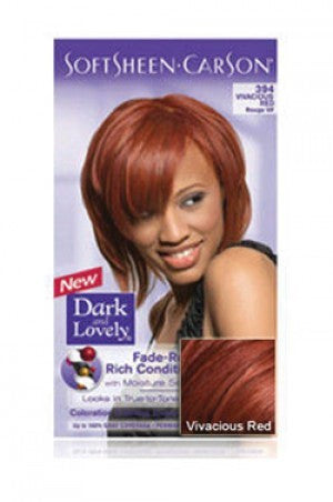 Dark & Lovely Hair Color Kit # Vivacious Red