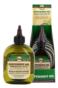 Sunflower Difeel Premium Natural Hair Oil peppermint 7.78oz