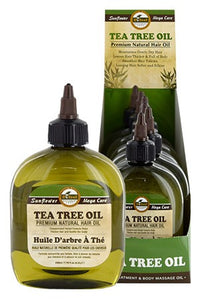 Sunflower Difeel Premium Natural Hair Oil Tea Tree 7.78oz