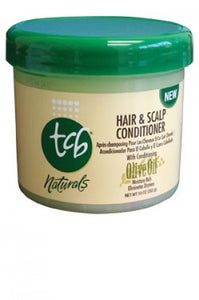 TCB Naturals Hair & Scalp Conditioner with Olive Oil 10oz