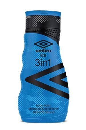 Umbro Ice 3 in1 Wash,Shampoo,Conditioner 13.5oz