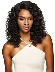 Simply Lace Front Wig Brazilian Natural Curly, 100% Remi Hair Wig