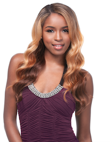 Front Lace Wig Edge Venus, Synthetic Hair Wig