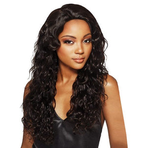 MyTresses Black Label Hand-tied 100% unprocessed Natural Human Hair Lace Wig Natural Boho Body