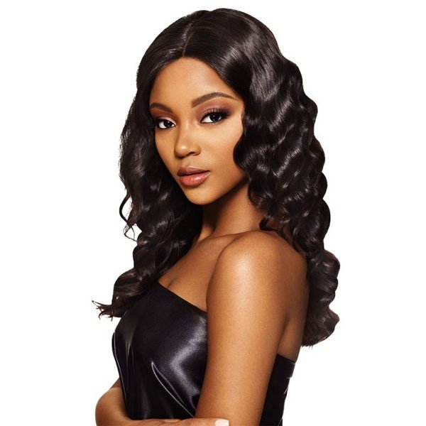 MyTresses Black Label Hand-tied 100% unprocessed Natural Human Hair Lace Wig Ocean Body